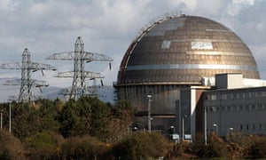 A view of the Sellafield nuclear reprocessing site