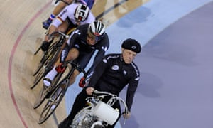 Derny at track cycling world cup