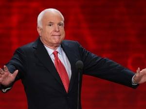 John McCain at the RNC
