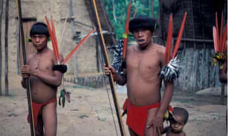 A massacre has taken place of Yanomami people on the Venezuelan border, according to claims