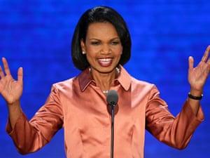 Condoleezza Rice at the RNC