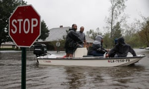 Hurricane Isaac hits LaPlace, Louisiana