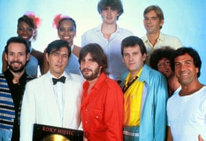 Roxy Music: Phil Manzanera, Bryan Ferry and Andy MacKay of Roxy Music in 1982