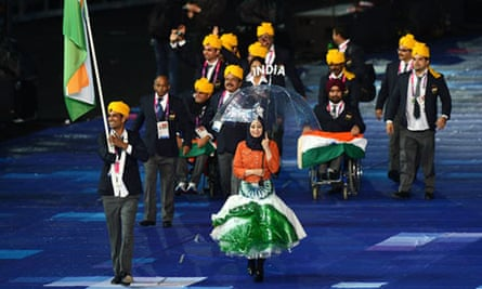 Indian Paralympic team