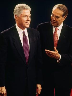 10 best: Bob Dole and Bill Clinton Debate