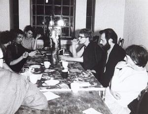 Kingsley Hall: Evening meal at Kingsley Hall, 1965