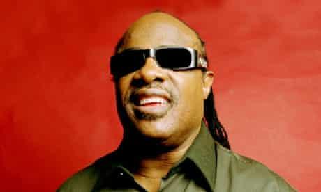 'I'm no better than the next person' … Stevie Wonder.