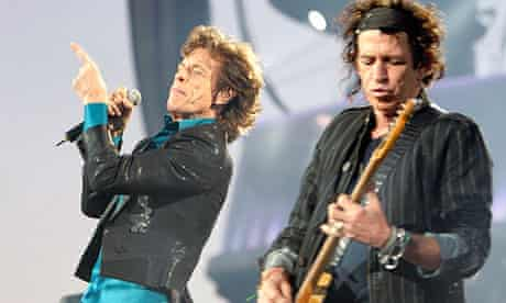 The Rolling Stones perform in Lausanne as part of their A Bigger Bang Tour in 2007