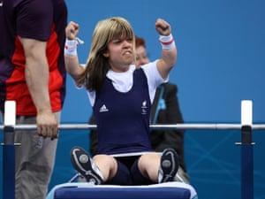 Great Britain's Zoe Newson