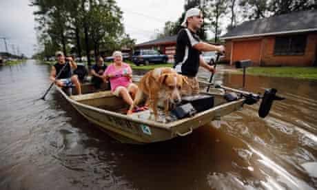Hurricane Isaac Hits New Orleans, Gulf Coast