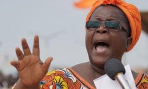 Togo's opposition leader Isabelle Ameganvi