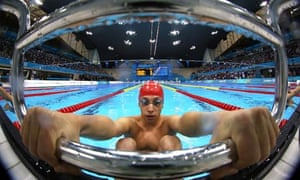 Jonathan Fox at the Aquatics Centre