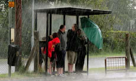 Wettest summer for 100 years