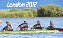 Germany's LTA mixed coxed four