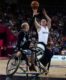 Wheelchair basketball: Great Britain v Germany