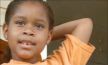 Salecia Johnson, the six year-old who was arrested at school for having a tantrum