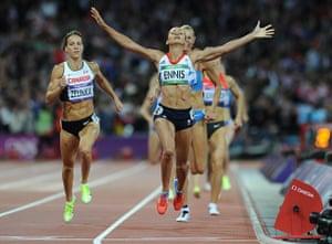 Tom Jenkins 3: Jessica Ennis wins gold