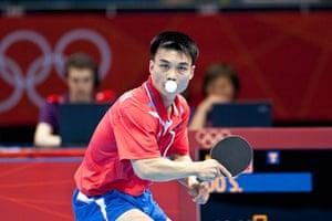 Table tennis: Saehyuk Joo keeps his eye on the ball