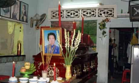 Shrine to Dang Thi Kim Lieng
