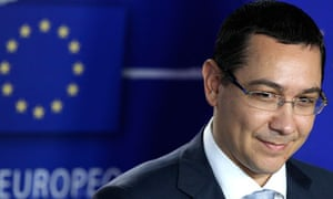 Romania's PM Ponta