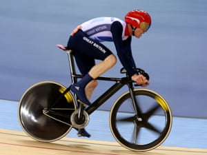Ed Clancy of Great Britain