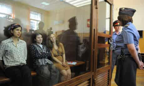 Pussy Riot members appear in court on hooliganism charges