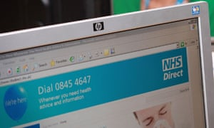 NHS Direct Site