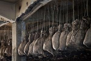 Manifesta 9: Coal Sack Ceiling homage to Marcel Duchamp