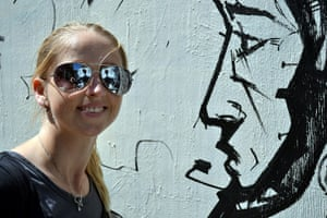 Camera Club: Kym Beeston: GIRL V GRAFFITI