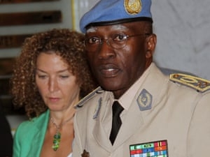 Head of the UN Supervision Mission to Syria Lieutenant General Babacar Gaye.