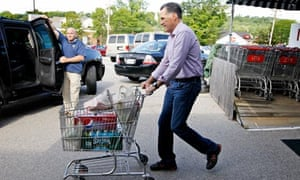 Mitt Romney shopping