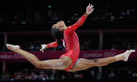 US gymnast Gabrielle Douglas