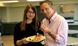 Michael Mosley in Horizon Eat, Fast and Live Longer