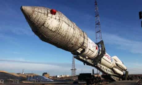 Russian satellites lost after an accident