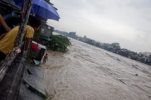 Floods in Manila: Marikina City