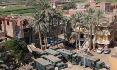 Dahshour village sectarian violence