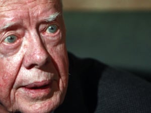 Former U.S. President Jimmy Carter in Cairo January 12, 2012. Photograph: REUTERS/Amr Abdallah Dalsh