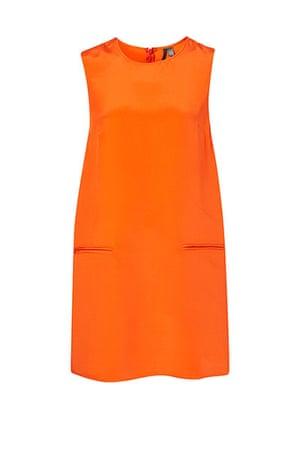 Fashion Wish List: Orange Shift Dress