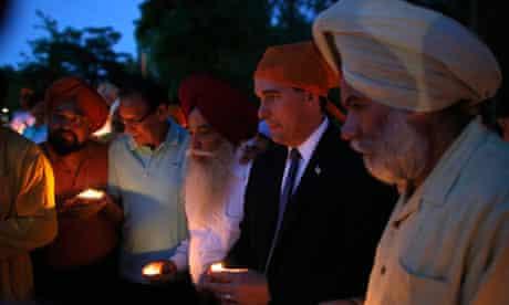 Wisconsin Sikh community vigil