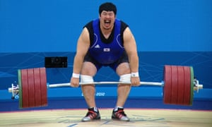 Korean weightlifter Jeon Sang-Guen missed out on a medal and finished in fourth place.