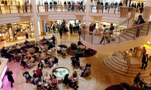 The Bluewater shopping centre in Kent