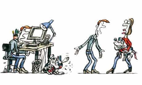 Tim Dowling illustration, 11 August 2012