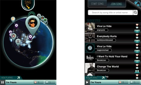 Smule's new iPhone app would like to teach the world to Sing