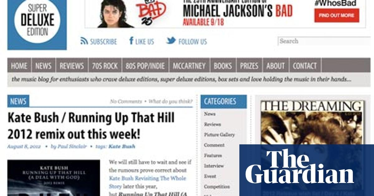 Blog jam: SuperDeluxeEdition | Music | The Guardian