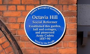 Octavia Hill blue plaque