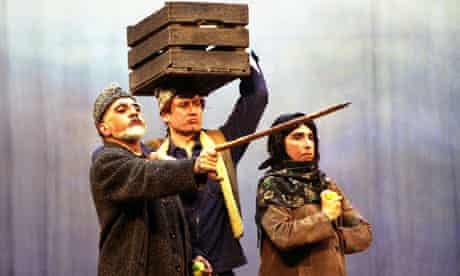 Scene from the play Le Dernier Caravanserail