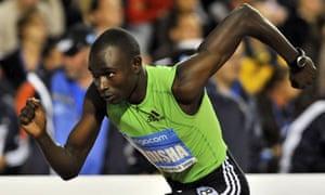 Kenyan runner David Rudisha
