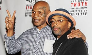 Mike Tyson and Spike Lee at one-man show premiere