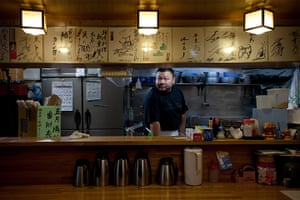 Big Picture: Sumo: Naoki Hino is a 32-year-old Chanko restaurant owner