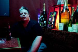 Big Picture: Sumo: Giuliano Tussatto, 35, a Brazilian who owns a bar in Rappongi, Tokyo